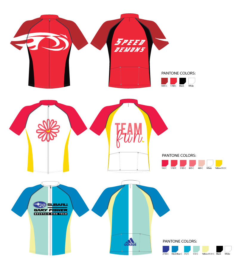 Bike Jersey Designs