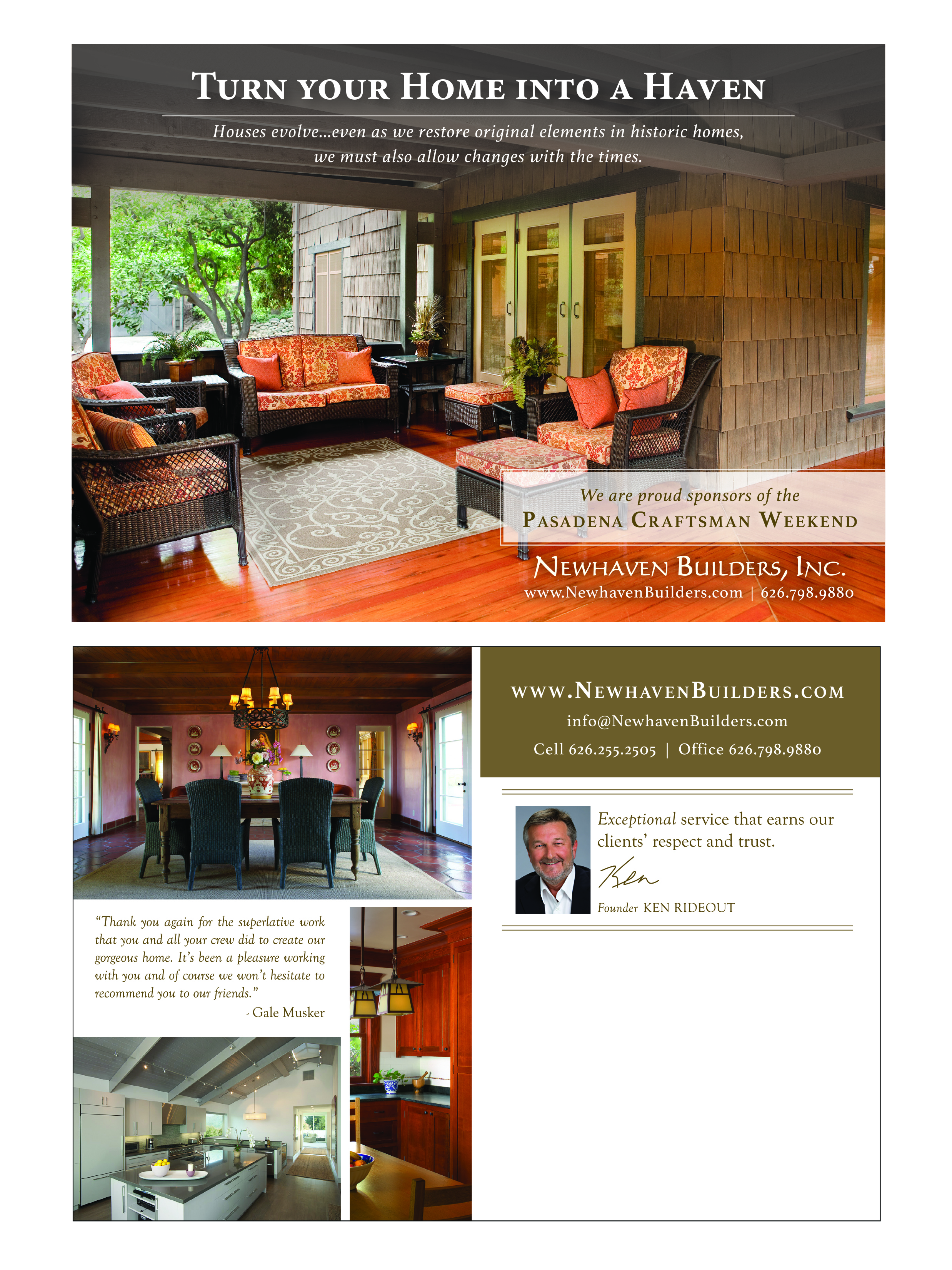 Home Remodel Postcard - Direct Mail Campaign